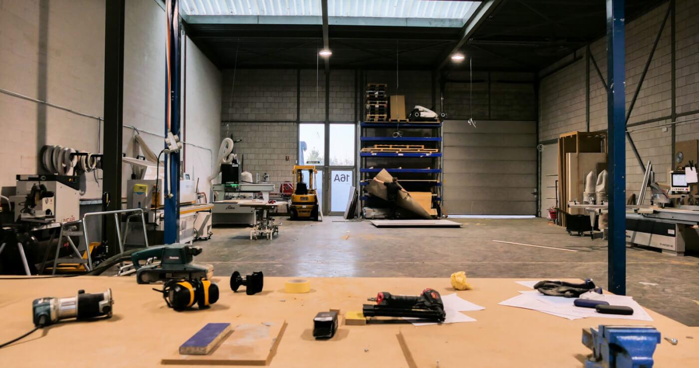 werkplaats lev interieurbouw